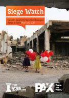 Siege Watch #7 - Seventh Quarterly Report on Besieged Areas in Syria - May-July