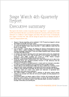 SiegeWatch Executive Summary december 2016