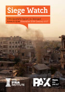 Siege Watch #5 - Fifth Quarterly Report on Besieged Areas in Syria - March 2017